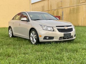 2012 Chevy Cruze LTZ Excellent condition clean title cold A/C HUGE Gas saver for Sale in Miami, FL