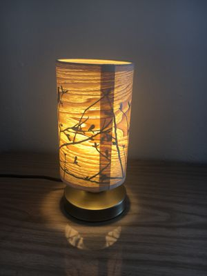 Table desk lamp with bird shade for Sale in Seattle, WA