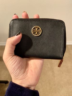 Tory Burch black Wallet with keychain small for Sale in San Antonio, TX