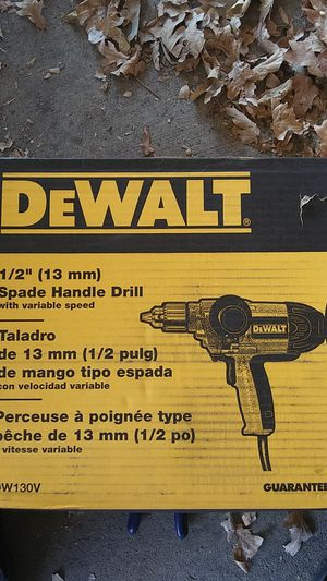 DeWalt Spade handle drill 1/2 inch for Sale in Arvada, CO