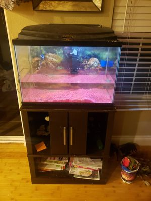 Fish tank with stand for Sale in Denver, CO
