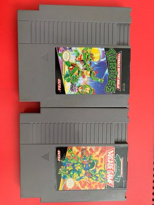 TMNT Original NES video games 1985 (untested) for Sale in Worthington, OH