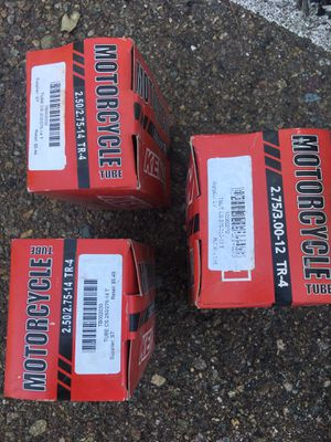 Inner tubes for motorcycle quad & 3 wheelers for Sale in Lakeside, CA