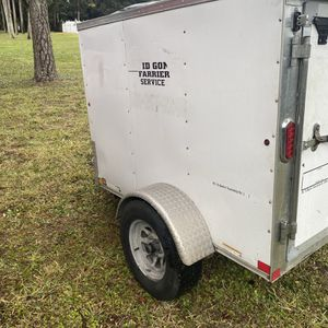 4x6 Enclosed Trailer for Sale in West Palm Beach, FL