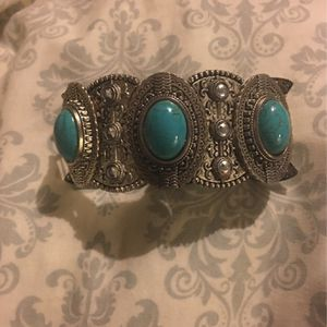 Turquoise Sterling Silver Bracelet for Sale in Carbondale, IL