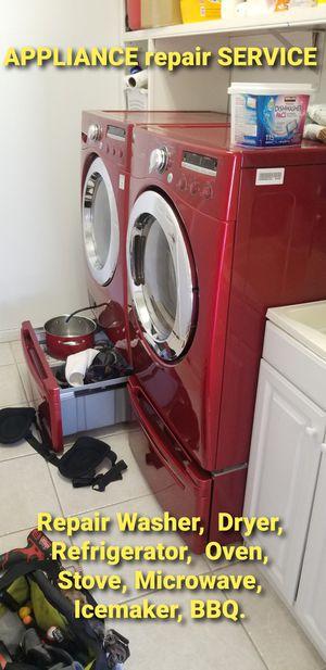 Used dryer repair service for Sale in Dania Beach, FL
