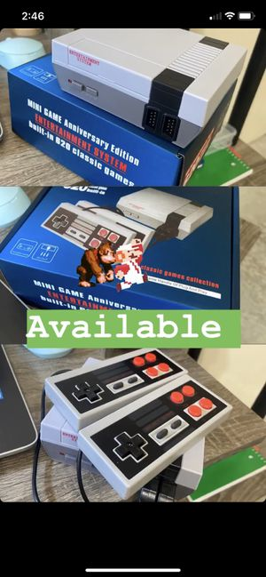 RETRO MINI GAMES, ARCADE GAMES, 620 CLASSICS , MARIO BROS , PAC-MAN , FAMILY FUN for Sale in Hollywood, FL