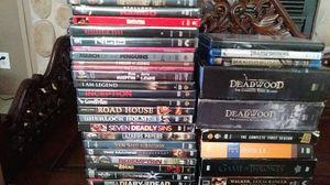 3 blu rays 26 dvds plus series for Sale in Stuart, FL