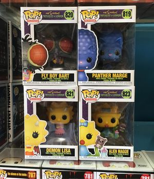 The simpsons treehouse of horror pops for Sale in East Los Angeles, CA