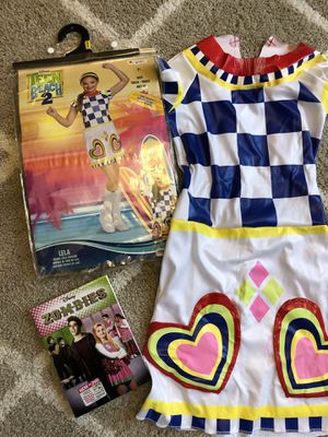 Disney's teen beach costume & disney's zombie DVD movie for Sale in Tracy, CA