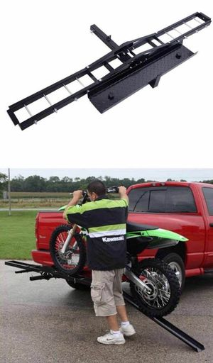 Brand new in box 500lbs Capacity motorcycle dirt bike carrier hitch mount for Sale in Whittier, CA