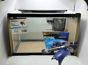 NEW 20 gallon aquarium, OPTIONAL assessories for Sale in Lacey, WA