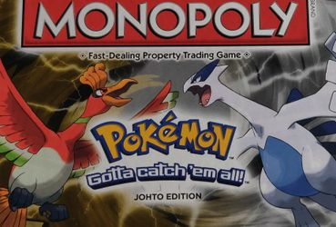 """Pokemon Monopoly Johto Edition """"Gotta Catch Em All"""" for Sale in Los Angeles,  CA"""