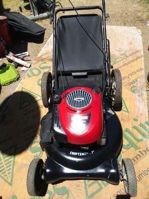 Craftsman push lawn mower run great for Sale in Grand Terrace, CA