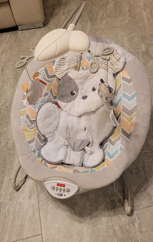 Fisher-Price Sweet Snugapuppy Dreams Deluxe Bouncer for Sale in Orlando, FL