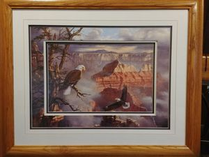 Eagle and Mountains Picture for Sale in Clio, MI