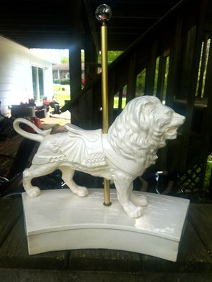 Lion Carousel Statue for Sale in Fairfax, VA