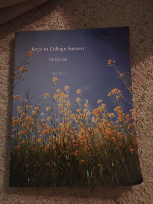 Keys to college success textbook for Sale in New Port Richey, FL