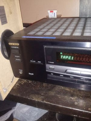 Onkyo TX 8522 Stereo Receiver with Remote Sub and Satellites for Sale in Durham, NC