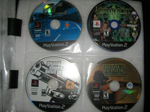 Playstation 2 PS2 System Console Games Devil May Cry 1 Grand Theft Auto 3 Zone of Enders for Sale in Lake Wales, FL