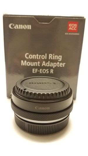 Canon Control Ring Mount Adapter EF-EOS R for Sale in Chino, CA