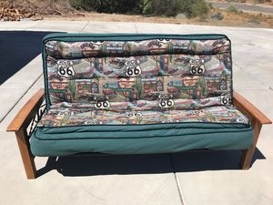 Route 66 Futon Couch Sleeper for Sale in Hesperia, CA