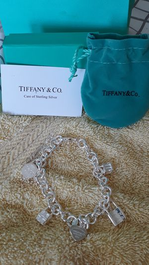 Tiffany&co bracelet silver new for Sale in New Albany, OH