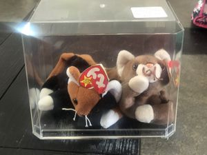 Beanie babies chip and Pounce kitties for Sale in Loma Linda, CA