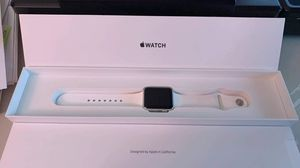 Apple Watch Series 1 aluminum case, white sports band 38mm for Sale in Pittsburgh, PA