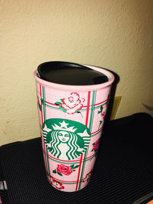 Floral Starbucks cup for Sale in Bremerton, WA