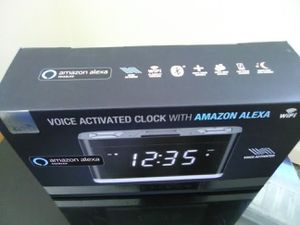 Amazon Alexa digital clock for Sale in Buffalo, NY