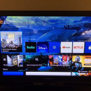 "Panasonic 42"" TV w/remote control for Sale in Rancho Santa Margarita, CA"
