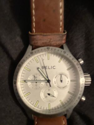 Relic men's watch for Sale in McDonald, PA