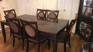 Beautiful 7 piece Dining Set with China Cabinet- $370 or Best Offer! for Sale in Annandale, VA