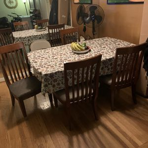 Sofa & Love Seat & Table With Chairs for Sale in Brockton, MA