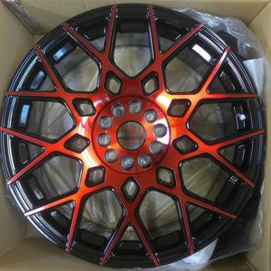 """Brand New 18"""" SP52 5x114.3Black Red Wheels for Sale in Miami, FL"""