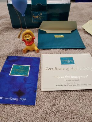 Winnie The Pooh Collectors Ornament 1996 - $80 for Sale in Bel Air, MD