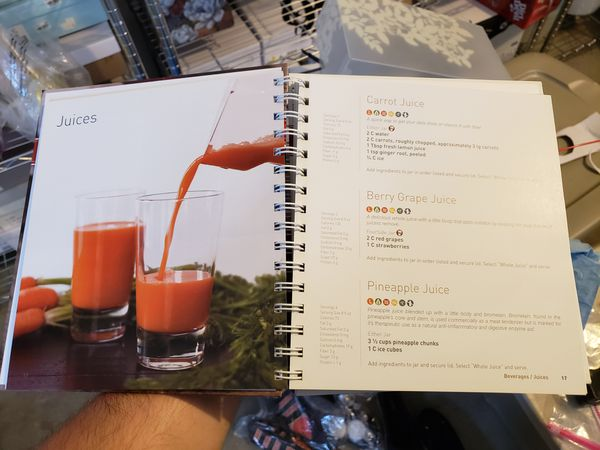 Blendtec Smoothie Recipe Book