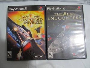 STAR TREK: SHATTERED UNIVERSE ENCOUNTERS complete in manual for Playstation2 PS2 for Sale in Los Angeles, CA