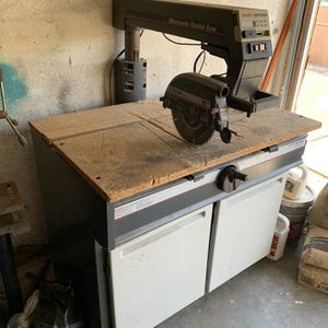 Craftsman Radial Saw With Storage for Sale in Anaheim, CA