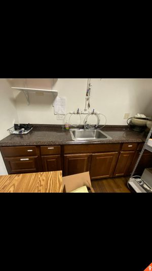 Kitchen cabinets with sink for Sale in Orange, CA