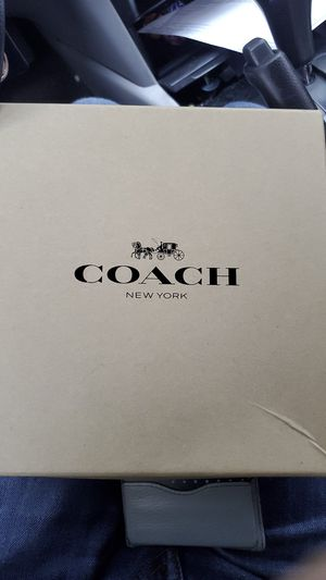 Large Genuine Coach Leather Dog Collar for Sale in Centreville, VA