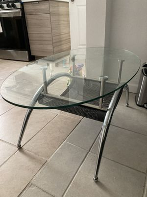 Glass coffee table for Sale in San Francisco, CA