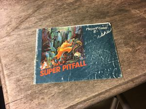 Super pitfall Nintendo nes Manual for Sale in Forney, TX