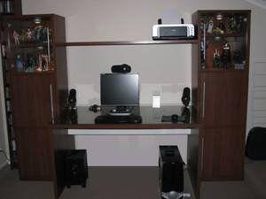 Ikea Desk/office unit/open shelves for Sale in Crofton, MD