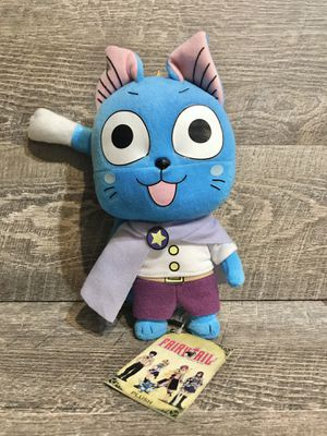 Fairy Tail 8'' Happy Celestial Ver. Plush Doll Anime Manga NEW for Sale in Rancho Cucamonga, CA