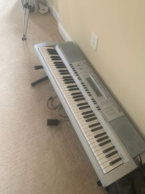 Casio Piano w/ power chord & stand for Sale in Washington, DC