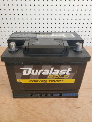 Car Battery Group Size 47/H5 Duralast Gold 2019- $60 With Core Exchange/ Bateria Para Carro Tamaño 47/H5 Duralast Gold 2019 for Sale in South Gate, CA