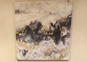 Abstract art on canvas for Sale in Port Charlotte, FL