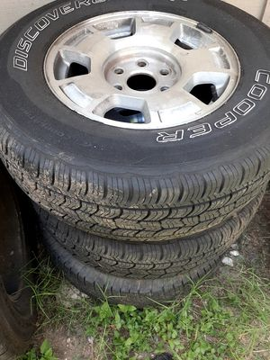 265/70r17 tires for sale for Sale in Austin, TX